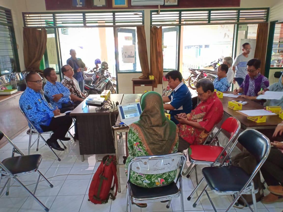 Monev Program Kotaku di Kelurahan Purwokinanti Tahun 2018