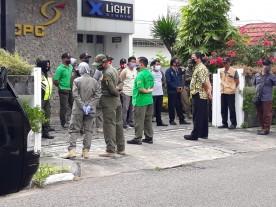 Olah Raga dan Review Tindaklanjut Hasil Kegiatan Pelaksanaan Kegiatan Prokes Bersama Satpol PP dan Lintas Terkait