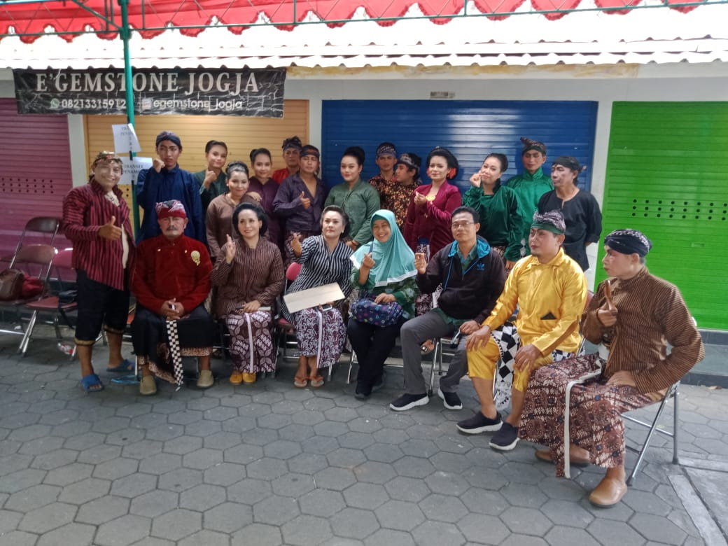 RKB RISNTISAN KELURAHAN BUDAYA DI XT SQUARE NOVEMBER 2020