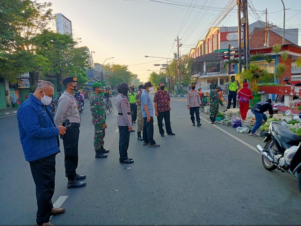 Pengetatan PPKM Darurat di wiliyah Kemantren Pakualaman